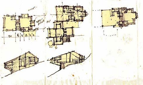Prototypical napkin sketch