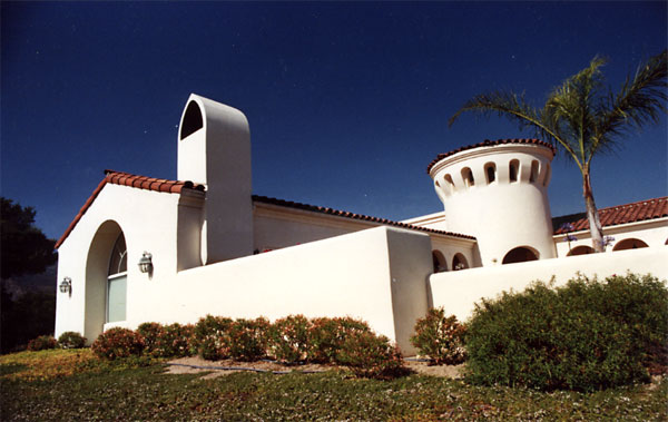 Roy Prince Architect, Architecture, Placemaking & Walkability, Guest House - Santa Barbara Style - Columns & Arches